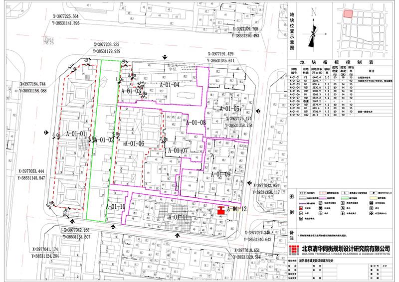 全国优秀城乡规划设计一等奖:汤阴老城更新详细城市设计