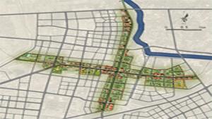 中牟县城老城区青年路、解放路道路两侧城市设计