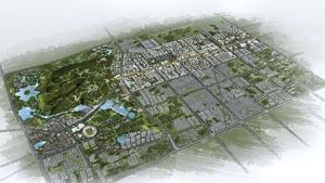 阿拉善盟左旗巴彦浩特镇核心街区城市设计