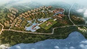 乌鲁木齐红雁池水库北岸