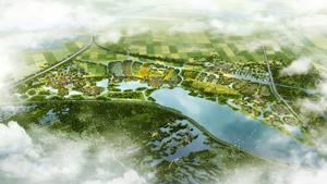 中牟县北部片区概念性总体规划及核心区城市设计