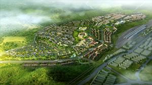 吉林省图们市铁路以西片区详细城市设计