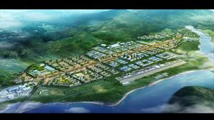 四川省天全县城始阳片区城市设计