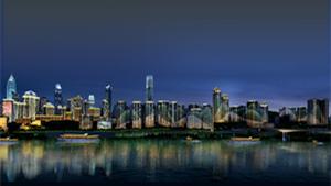重庆市渝中半岛夜景照明修建性详细规划