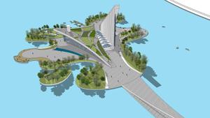 渤海新区规划展览馆
