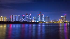 长沙市湘江两岸夜景亮化工程