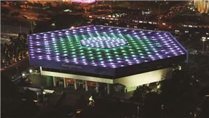 广州天河体育中心总平面亚运改造工程照明规划