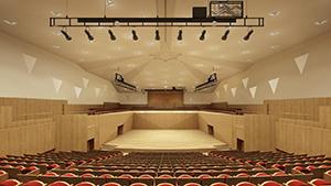 河南周口师范学院音乐厅