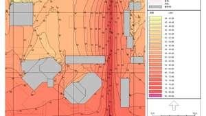 新华保险大厦噪声测试及防治