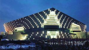 河南汤阴县文化中心