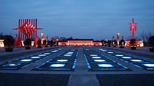 镇江金山湖景区景观照明设计