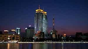宁波三江六岸照明规划设计
