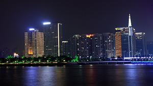 广州市发展中心大厦建筑照明