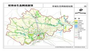 蚌埠市城市生态网络规划