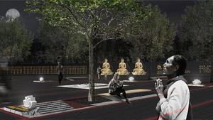 贵州梵净山东入口广场景观设计