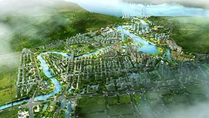 长乐市洞江湖公园工程设计及周边城市设计