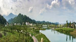 四川省沐川新区沐溪河及滨湖公园景观规划设计