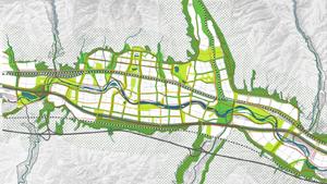 海东市核心区湟水河流域景观生态规划