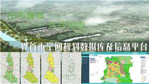 界首市空间规划及数据库信息平台建设