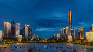 深圳福田中心区夜景照明设计