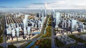西安高新区西太路核心区和未来科技城特色小镇概念规划