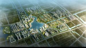 宁波市东部新城核心区东片区明湖及环湖地带城市设计
