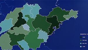 基于手机信令数据的山东省人口分布与流动分析