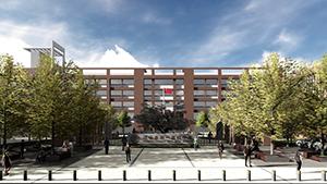 远安县第一高级中学入口景观设计