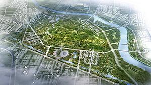 北京城市副中心城市绿心园林绿化概念性规划设计方案国际征集