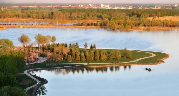 采煤沉降区改造:唐山南湖中央公园