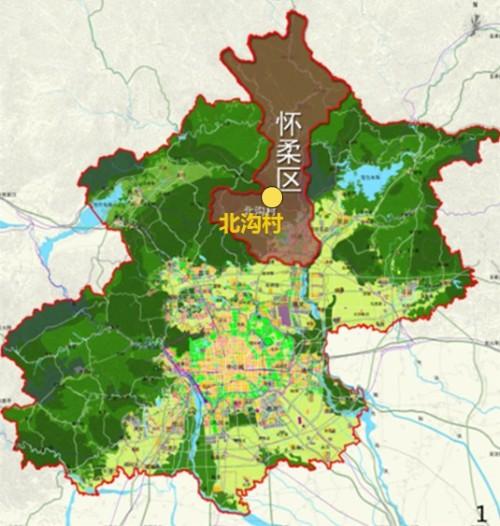 总规二所:北京市怀柔区渤海镇北沟村村庄规划