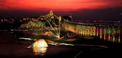 现代景观桥素材